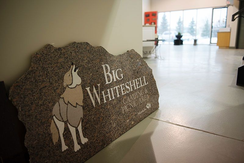 Big Whiteshell signage