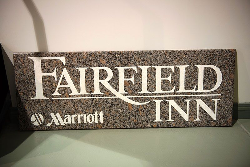 Fairfield Inn Signage